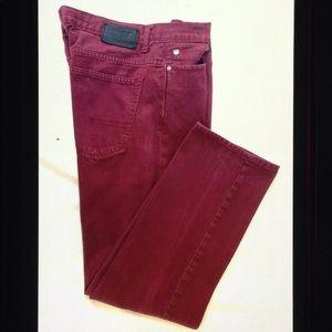 Calvin Klein Denim Rocker Straight Zip Fly Jeans